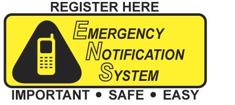 Public Emergency Notification Signup